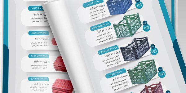 طراحی کاتالوگ معرفی محصولات میرزاده