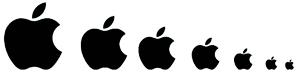 سایز در طراحی لوگو