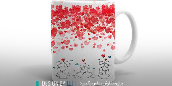 طراحی عکس روی لیوان در ارومیه