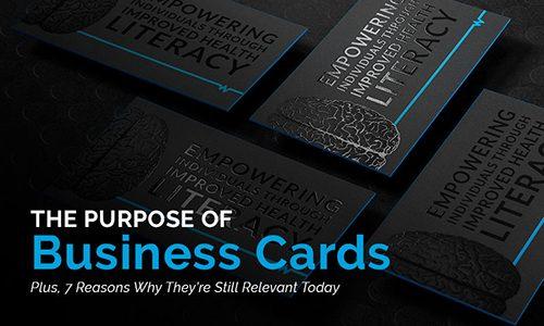 هدف از چاپ کارت ویزیت چیست؟