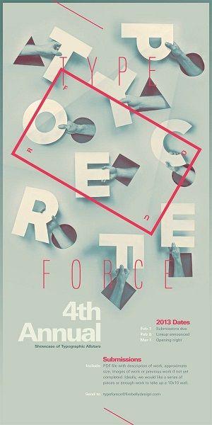 استفاده از تایپوگرافی در طراحی پوستر تبلیغاتی