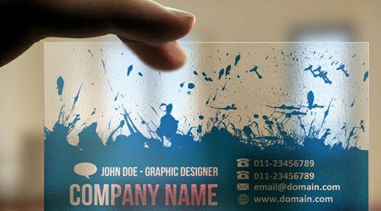 اهمیت طراحی کارت ویزیت